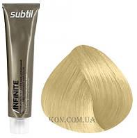 Стойкая безаммиачная краска для волос DUCASTEL Subtil Infinite 60 мл 10 - Экстра светлый блондин