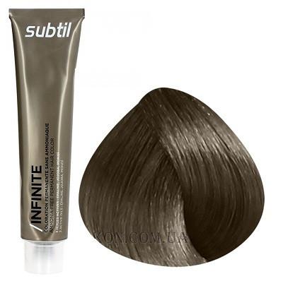 Стойкая безаммиачная краска для волос DUCASTEL Subtil Infinite 60 мл 7.00 - Интенсивный блондин