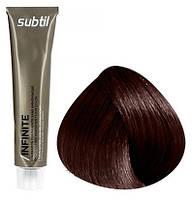 Стойкая безаммиачная краска для волос DUCASTEL Subtil Infinite 60 мл 4.65 - Шатен красный красное дерево