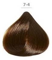 Стойкая крем-краска DUCASTEL Subtil Creme 60мл 7-4 - Медный блондин