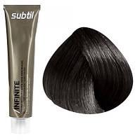 Стойкая безаммиачная краска для волос DUCASTEL Subtil Infinite 60 мл 3.00 - Интенсивный тёмный шатен