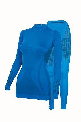 Комплект женского термобелья Haster UltraClima L-XL Синий (h0196), фото 2