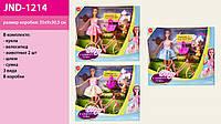 "Кукла типа ""Барби"" 3 вида, питомцы, велосипед,шлем, в кор. 35*30,5*8,5см /36-2/(JND-1214)"