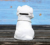 Копилка собачка Йоркширский терьер белая керамика h13см 4506700-2йорк-терьер, фото 4