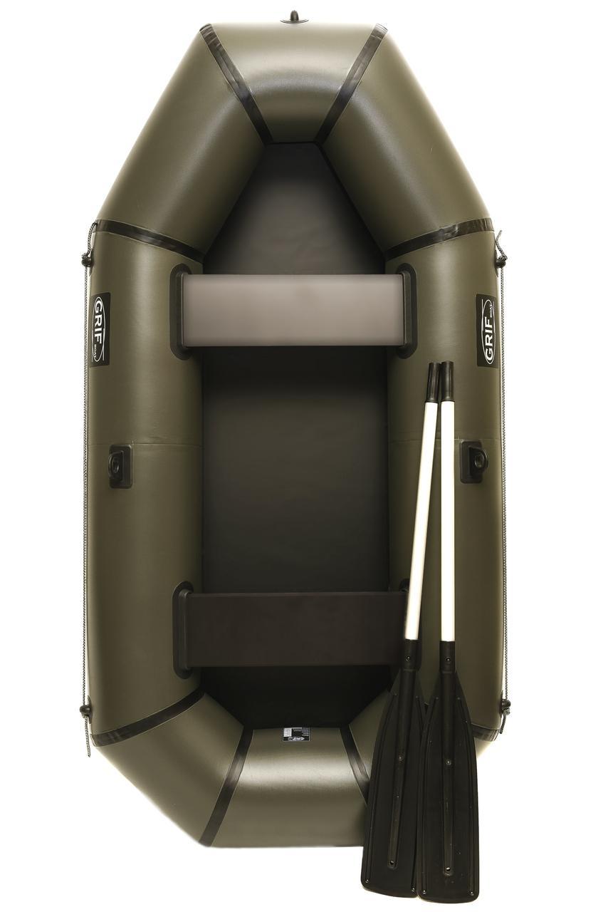 Надувная резиновая лодка Grif boat GL-240 для рыбалки и охоты на воде (220606)