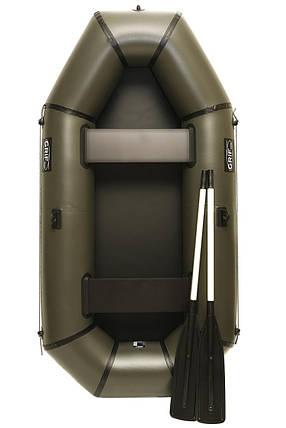 Надувная резиновая лодка Grif boat GL-240 для рыбалки и охоты на воде (220606), фото 2