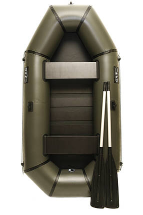 Надувная резиновая лодка Grif boat GL-240S для рыбалки и охоты на воде (220607), фото 2
