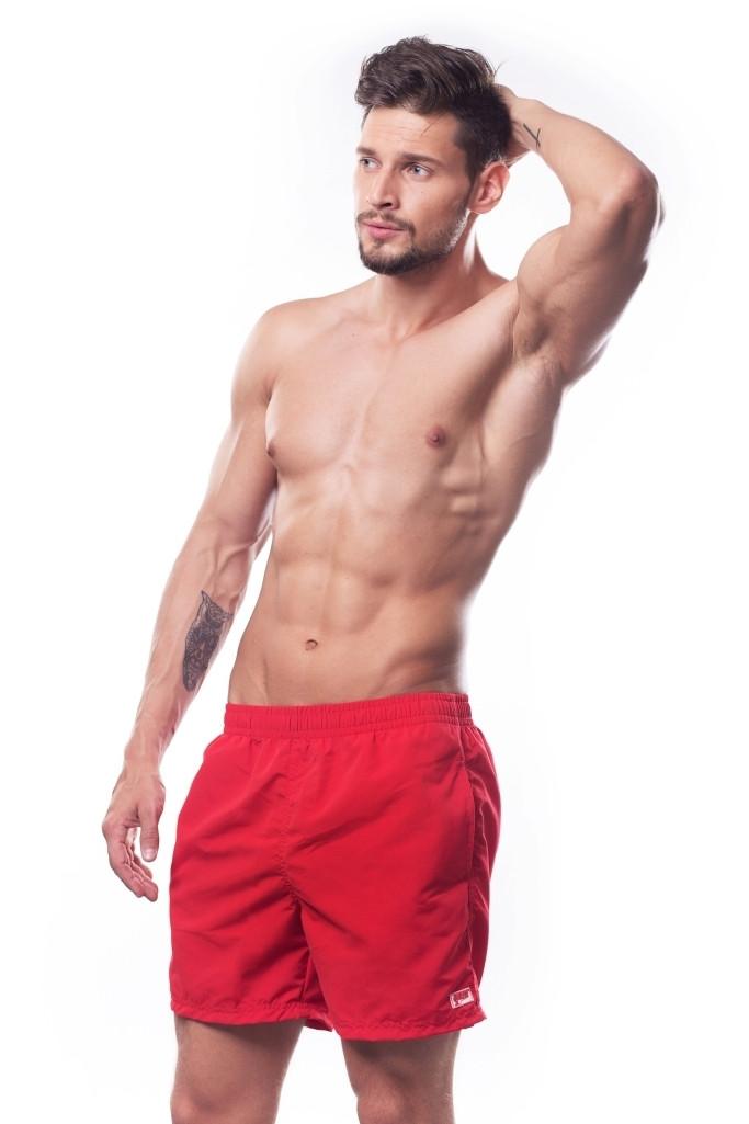 Пляжные шорты мужские Shepa XXL Красные (sh0015)