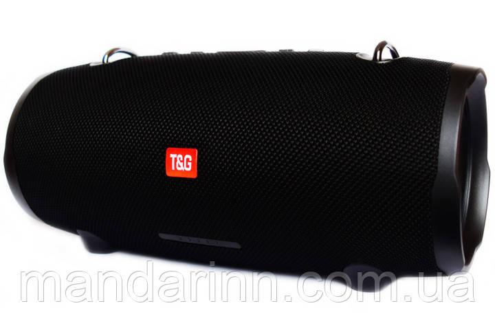 Портативная беспроводная Bluetooth стерео колонка T&G Xtreme 2 Big Черная (Xtreme 2 Black)