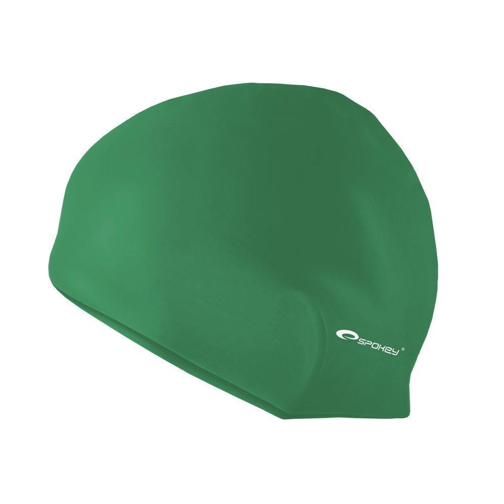 Шапочка для плавания Spokey Summer Cap для взрослых Onesize Зеленая (s0119)