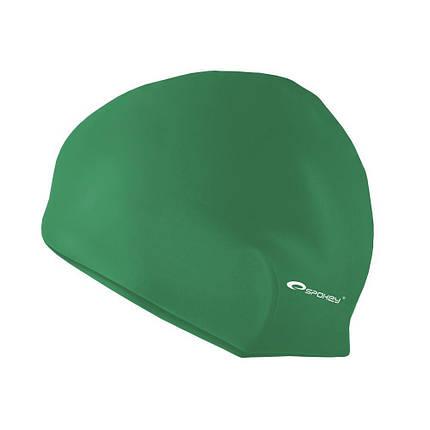 Шапочка для плавания Spokey Summer Cap для взрослых Onesize Зеленая (s0119), фото 2
