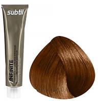 Стойкая безаммиачная краска для волос DUCASTEL Subtil Infinite 60 мл 7.44 - Блондин глубокий медный