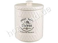 """Банка для кофе Stenson """"Кантри"""" 800мл 11,5х11,5х15,5см"""