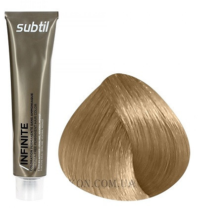 Стойкая безаммиачная краска для волос DUCASTEL Subtil Infinite 60 мл 9.8 - Очень светлый блондин бежевый