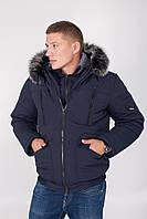 Куртка мужская зимняя в синем цвете М-61