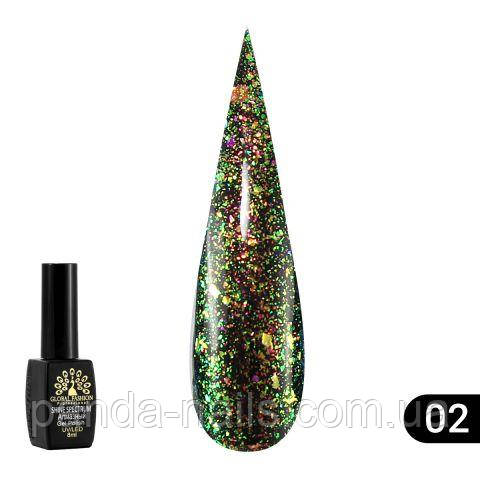 Гель Лак Shine Spektrum № 302 , Global Fashion 8 ml