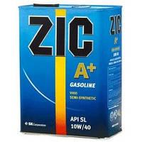 Масло моторное ZIC(Зик) A+ 10W-40 4 л.