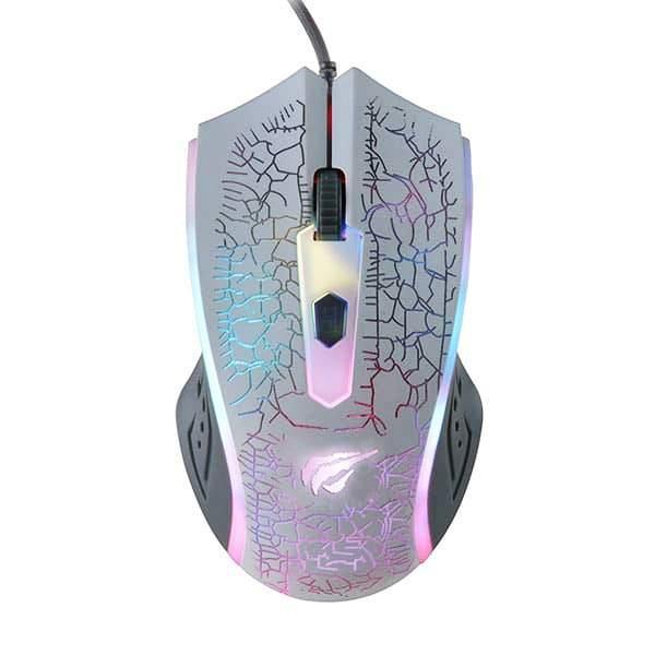 Мышь игровая проводная Havit HV-MS736 white