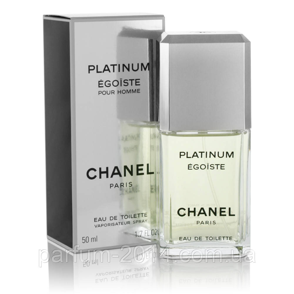 Мужская туалетная вода Chanel Egoiste Platinum + 10 мл в подарок - Parfum-2014 - Интернет-магазин парфюмерии и косметики в Харькове