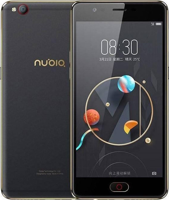 Смартфон ZTE Nubia M2 Lite (NX573J) 3/64Gb Black/Gold