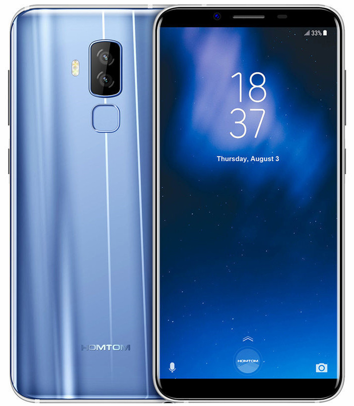 Смартфон HomTom S8 4/64Gb Blue, фото 1