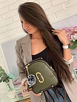 Женский рюкзак №7707зелёный, фото 1