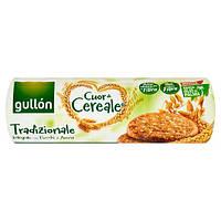 Печенье злаковое  без пальмового масла Gullon Cuor di Cereale Tradizionale 280г  Испания, фото 1