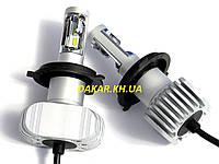 Светодиодные автомобильные лампы CL7 H4 Hi/Lo Celsior 120W