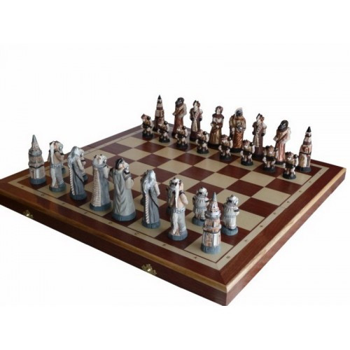 Шахматы Madon Фантазия интарсия 56х56 см (с-159)