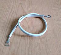 Провод массы (плоская перемычка) 10 кв. мм 53 см для межблочного соединения аккумуляторов, фото 1