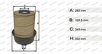 Фильтр воздушный системы питания двигателя Mercedes AXOR II, 1823 OM 906 LA 2004 >, Mercedes ATEGO I 1517