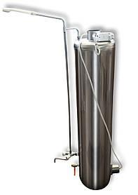 Электрический водонагреватель-титан Укрпромтех с набором кранов