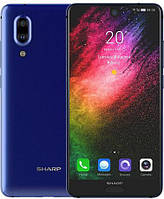 Смартфон Sharp Aquos S2 4/64Gb Blue / Sharp Aquos C10 4/64Gb Blue