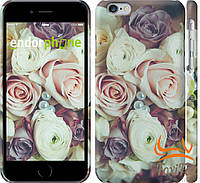 "Тонкий чехол для iPhone 6 "" Букет роз """