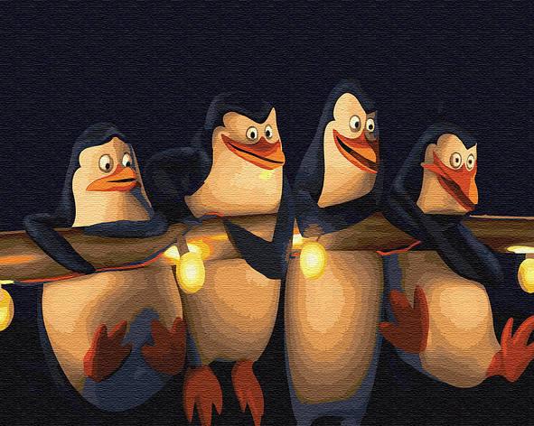 "Картина по номерам. Brushme ""Пингвины Мадагаскара"" GX22148, фото 2"