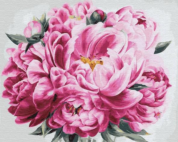 "Картина по номерам. Brushme ""Розовый пион"" GX24600, фото 2"