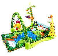 """Детский развивающий коврик """"Тропический лес"""" Baby Gift Star Toys Factor Co 3059"""