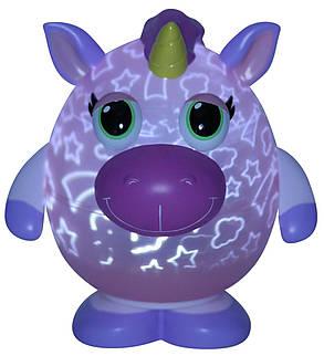 Светильник-проектор Playbrites Единорог Розовый (006381), фото 2