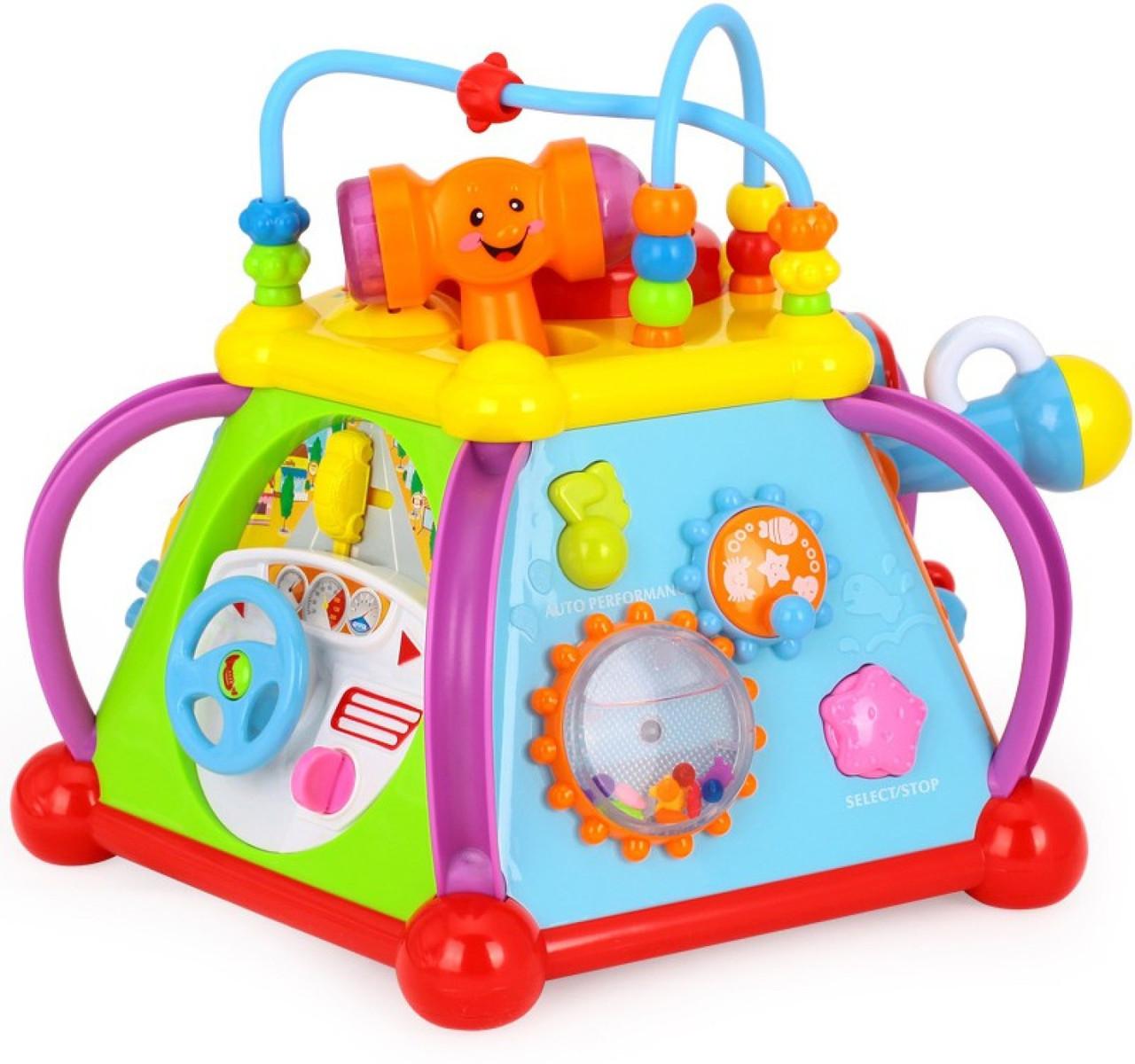 Мультибокс детская развивающая игрушка (N-806)
