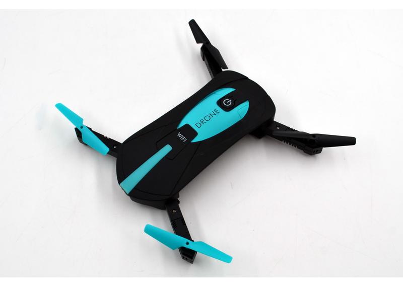 Квадрокоптер для селфи  Plymex JY018 Mini HD камера 120º Черный (006047)
