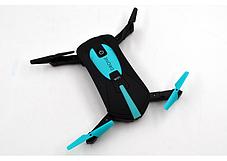 Квадрокоптер для селфи  Plymex JY018 Mini HD камера 120º Черный (006047), фото 3