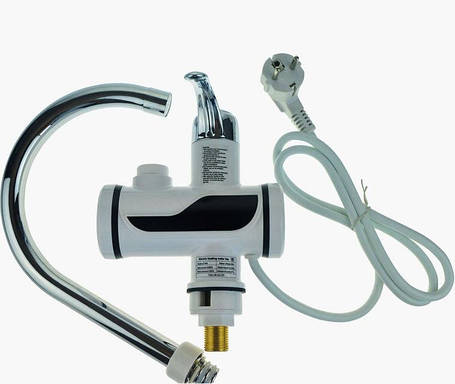 Проточный электрический водонагреватель Plymex R-16 3000 Вт (2045), фото 2