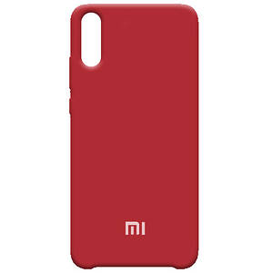 Чехол на телефон силиконовый Silicone Case Xiaomi Redmi 7 Red 152091