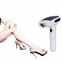 Фотоэпилятор Кemei km-6812 для лица и тела со съёмными картриджами Белый с черным (004466), фото 2