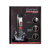 Триммер для бороды и усов Gemei GM-728 Черный (1em_004364), фото 3