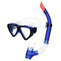 Комплект маска с трубкой для плавания Spokey Quarius Junior Синий (s0469)