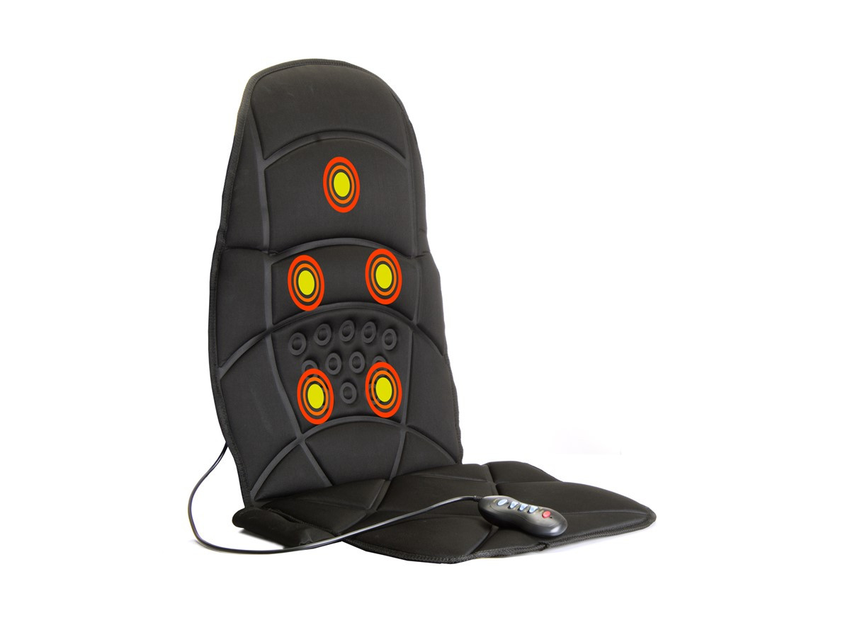 Массажер накидка Plymex Massage Seat Topper Черный (1em_005623)