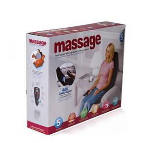 Массажер накидка Plymex Massage Seat Topper Черный (1em_005623), фото 2