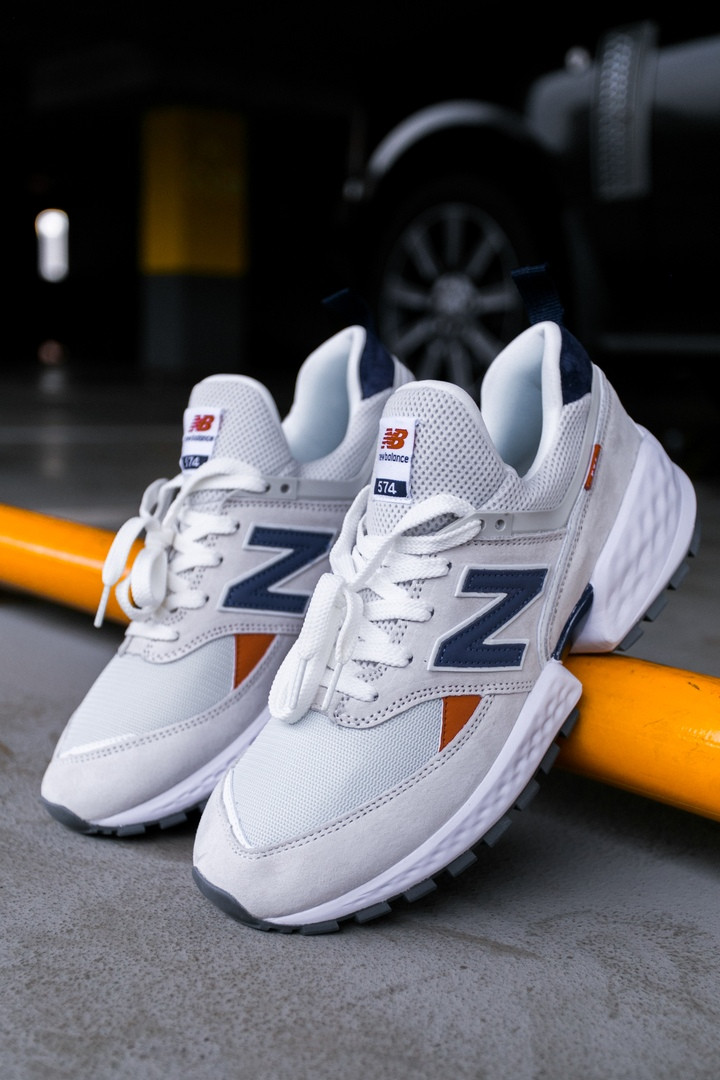 "Кроссовки New Balance 574 sport 2019 ""white"""