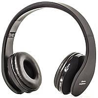 Беспроводные наушники Bluetooth с микрофоном Lesko NX-8252 Black (1153-5857)